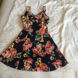 NWOT Ambiance Apparel Floral dress